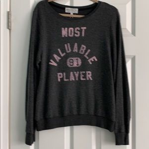 Wildfox Most Valuable Player Sweatshirt Size M